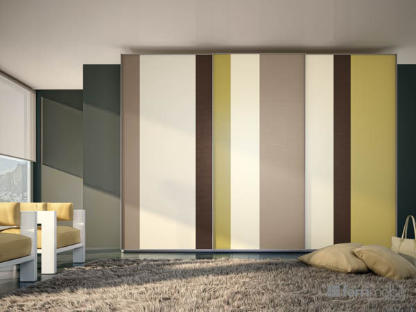 Wardrobes Sliding-door – model 31