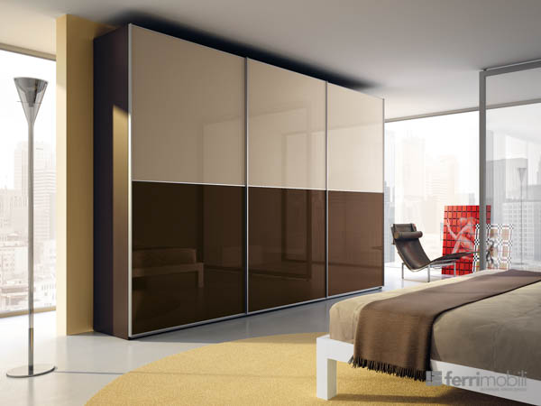Wardrobes Sliding-door – model 34