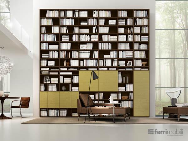 Libreria su misura – modello 70