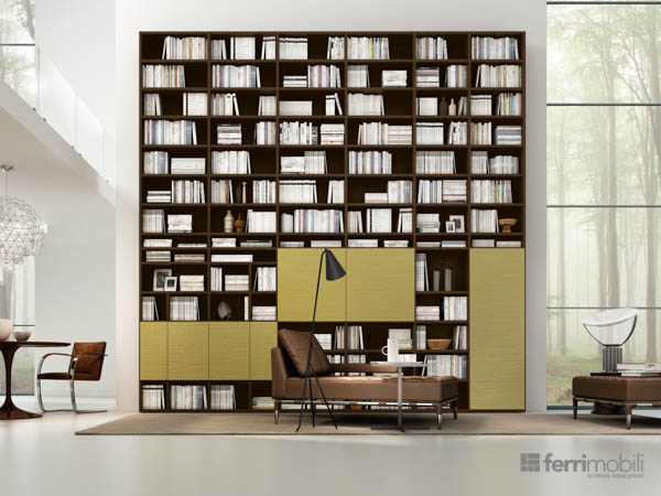 Salons bibliothèques – modèle 70