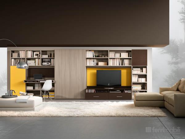 Salons bibliothèques – modèle 73
