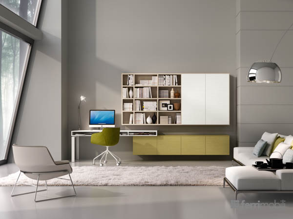 Salons bibliothèques – modèle 74