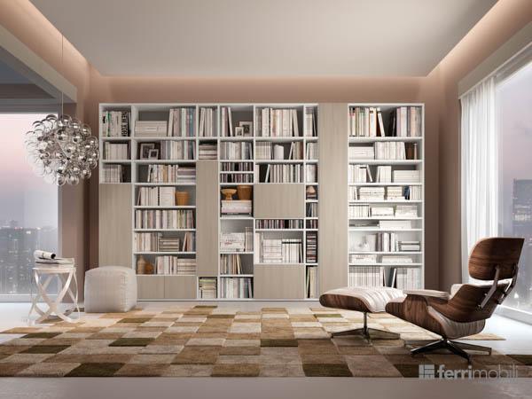 Salons bibliothèques – modèle 75