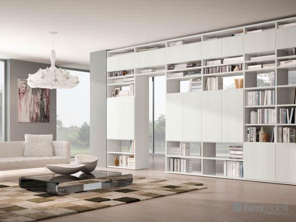 Libreria su misura – modello 76D
