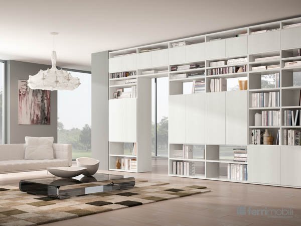 Salons bibliothèques – modèle 76