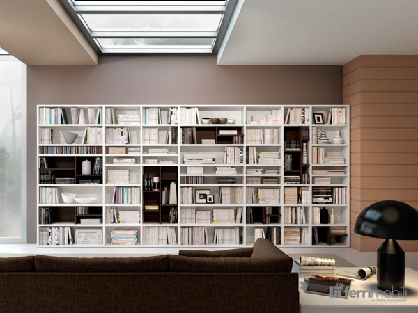 Salons bibliothèques – modèle 77