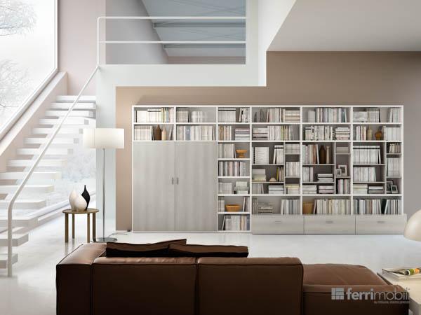 Salons bibliothèques – modèle 78