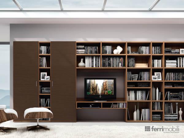 Salons bibliothèques – modèle 79