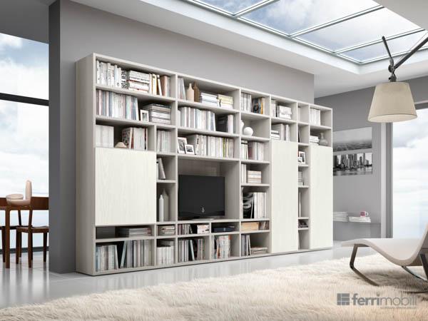 Salons bibliothèques – modèle 80