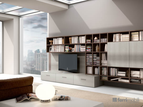 Salons bibliothèques – modèle 81