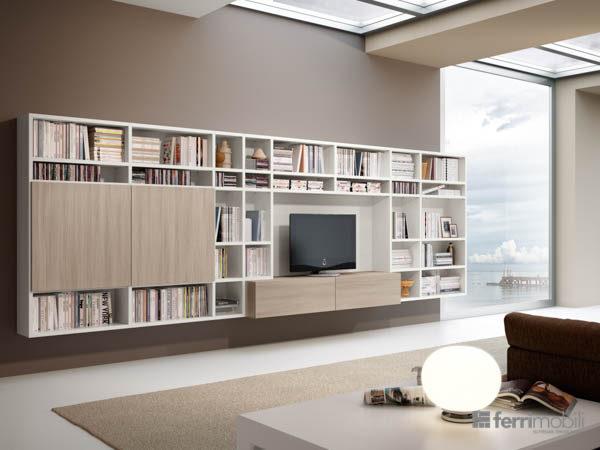 Salons bibliothèques – modèle 82