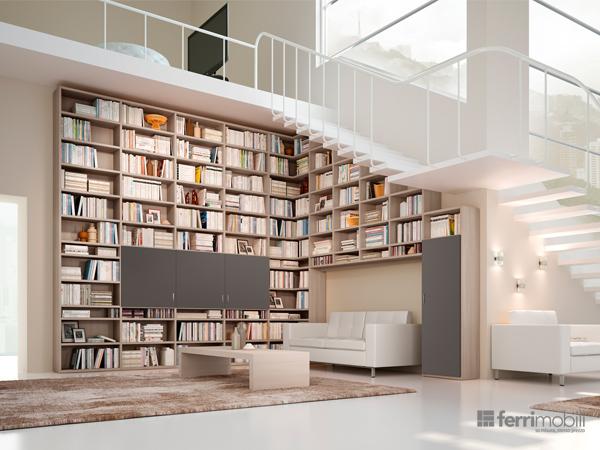 Libreria su misura – modello 71D