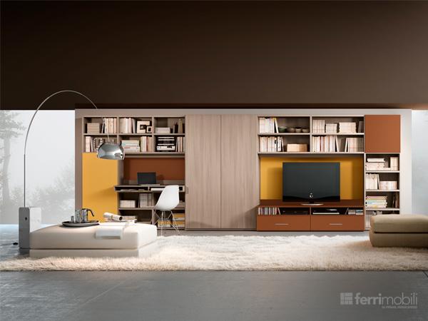 Libreria su misura – modello 73D
