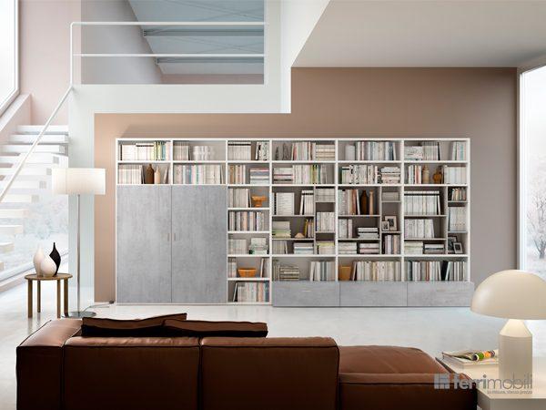 Libreria su misura – modello 78D