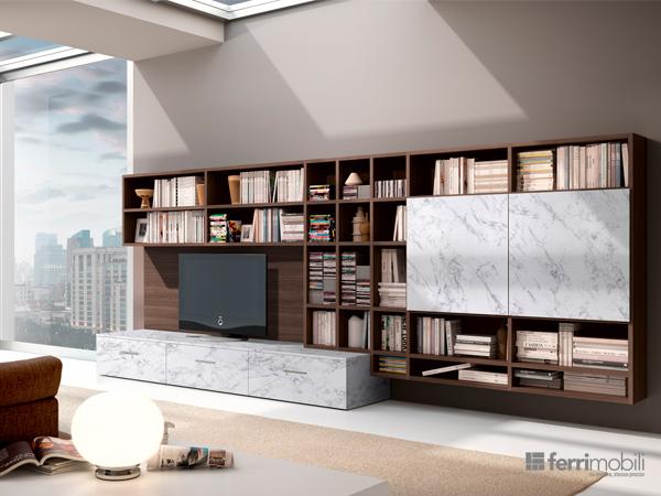 Libreria su misura – modello 81D