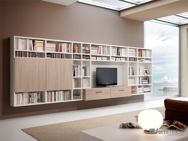 Libreria su misura – modello 82D