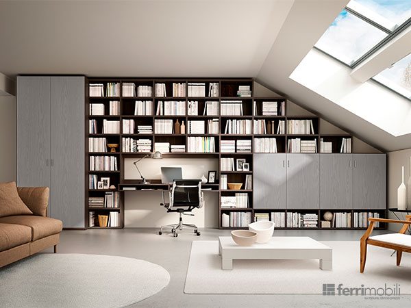 Salons bibliothèques – modèle 72