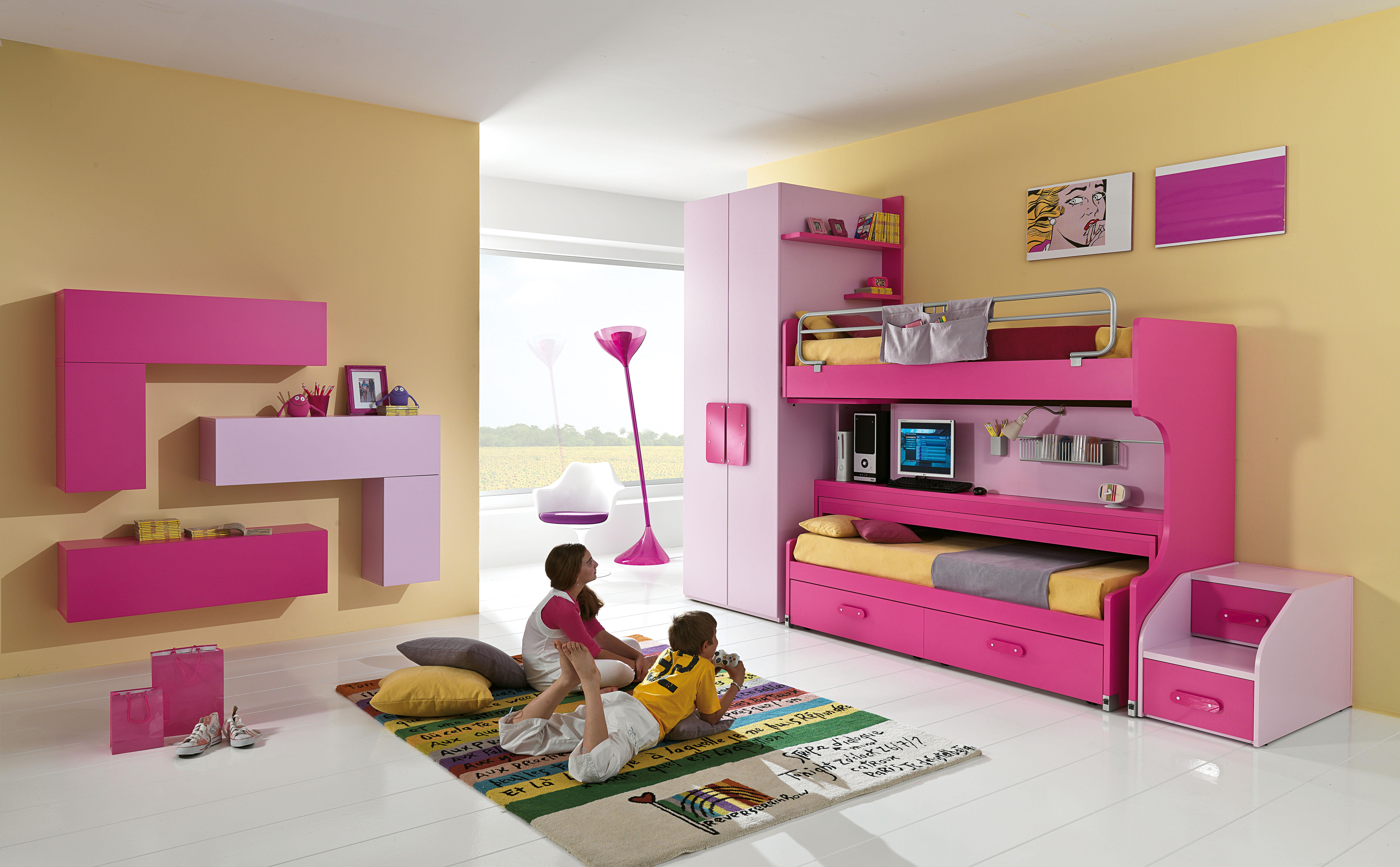 Idee Pittura Cameretta Bambina 4 idee per dipingere la cameretta dei bambini
