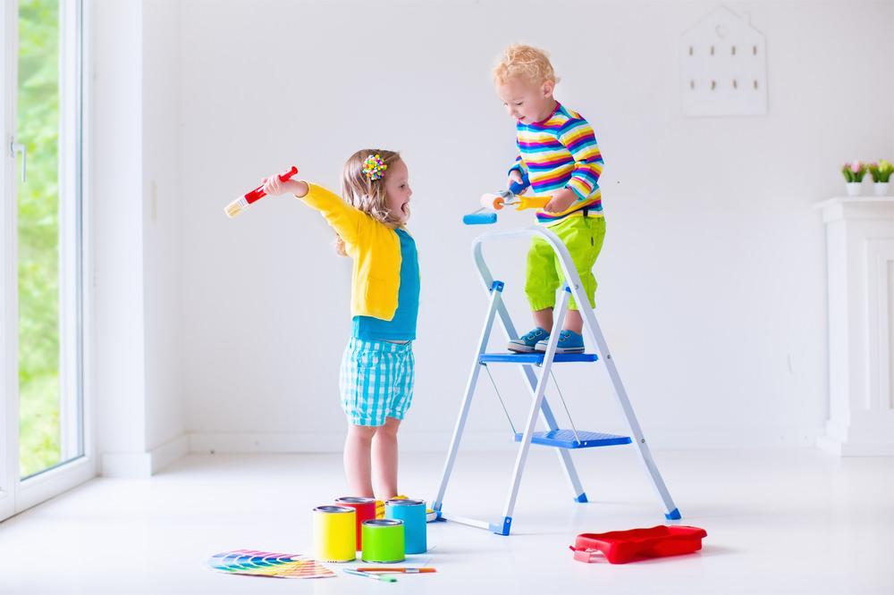 Idee Per Dipingere Un Mobile.4 Idee Per Dipingere La Cameretta Dei Bambini