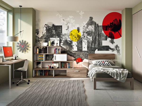 Camere per Ragazzi, Camere moderne, Camere per Teenager