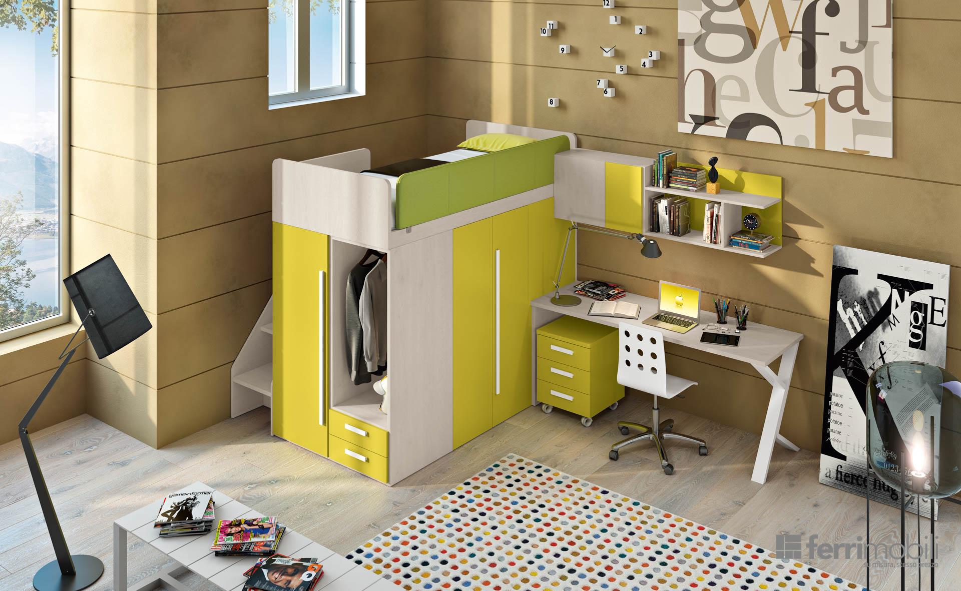 Letto a soppalco quale soluzione scegliere - Ikea letti a soppalco ...