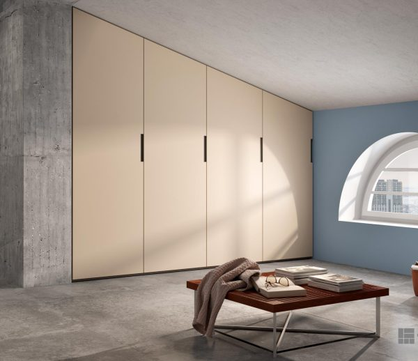 Sloping-Doors Wardrobes – model 012