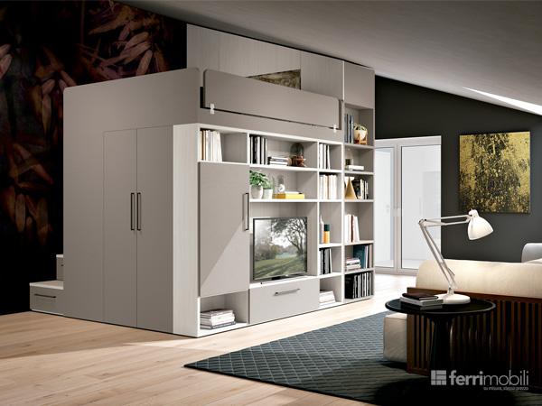 Composizione 18 – Cabina Concept per Loft